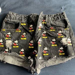 F21 x Disney shorts